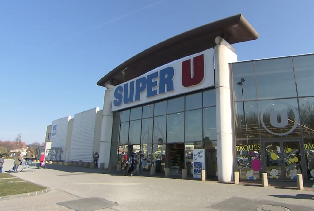Photo du magasin Super U DARNETAL