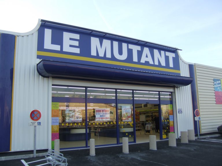 façade magasin Le Mutant