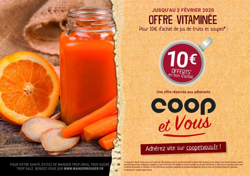 L'offre Vitaminée de janvier