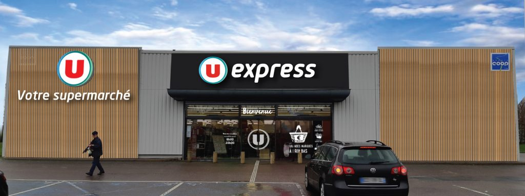 Photo du magasin U EXPRESS ST SEBASTIEN DE MORSENT